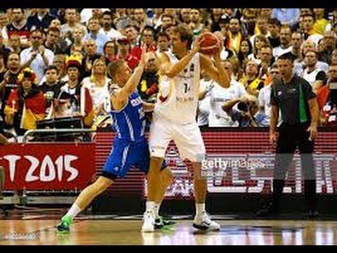 FIBA EuroBasket 2015 Germany vs Iceland HD