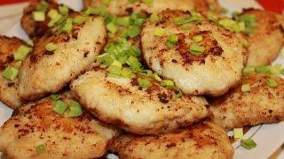 Рыбные котлеты из щуки со шпиком. Очень вкусно и полезно.(fish cutlets of pike)