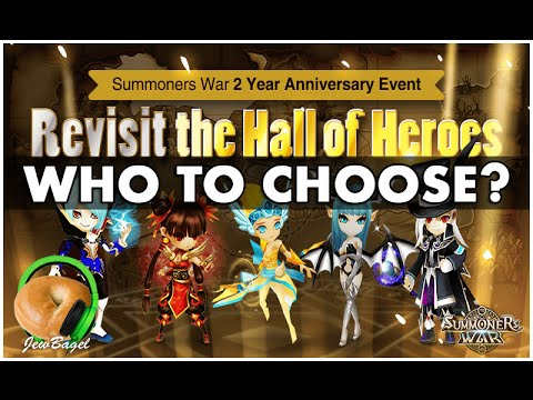 SUMMONERS WAR : Hall of Heroes 2-Year Anniversary - Who to pick?
