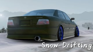 Sweden ▪ Rally Track ▪ Snow Drifting ▪ Toyota Chaser D-Spec ▪Cinematic Assoluto Racing