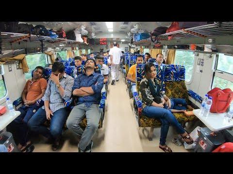 'Banalata Express 792' Non-Stop Fastest Train From Dhaka To Rajshahi Full Review