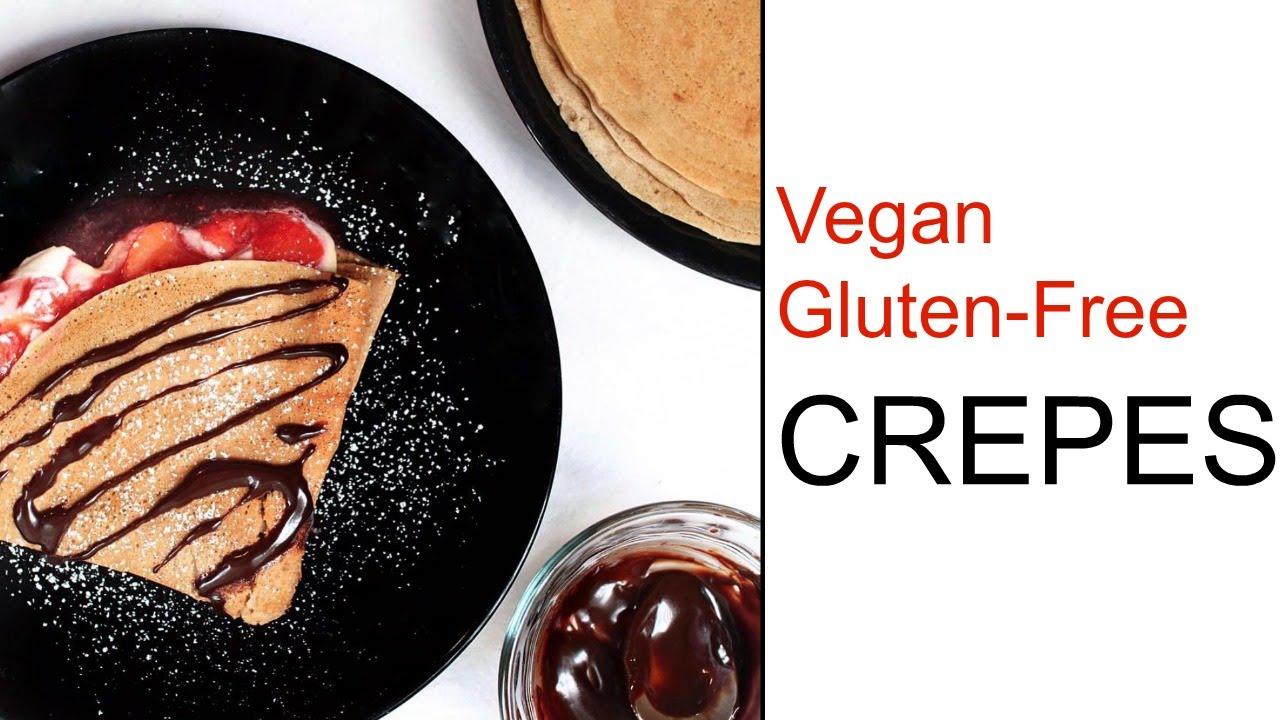 Healthy Crepe Recipe Vegan And Gluten Free Delicious Nutrition