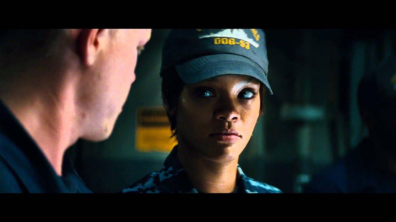 "Download Battleship - Clip: ""Hopper and crew investigate a captured alien"""