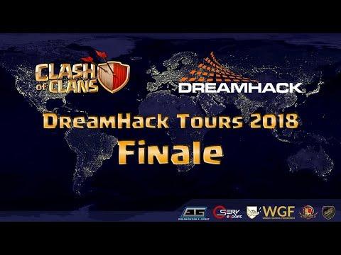 Clash of Clans Dreamhack 2018   Clash-Warriors vs Marshals' Kiss   FINALE
