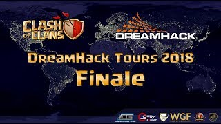Clash of Clans Dreamhack 2018 | Clash-Warriors vs Marshals' Kiss | FINALE