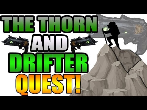 The THORN and DRIFTER Quest! | Funny Destiny 2 Gameplay thumbnail