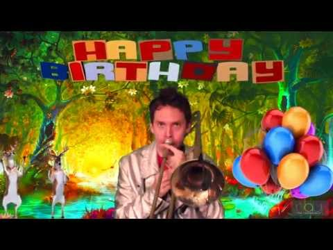 Happy Birthday on Trombone - Happy Birthday to You Song