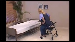 How to use a rolling walker rollator safely