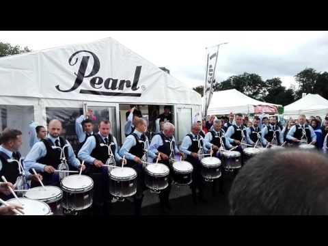 World Pipe Band Championships 2016- Jim Kilpatrick Drum Salute (1)