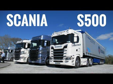 2017 SCANIA S500 Truck - Test Drive & Roadshow IRL - Stavros969