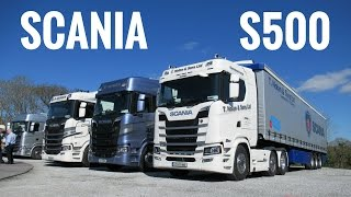 2017 SCANIA S500 Truck - Test Drive & Roadshow IRL - Stavros969