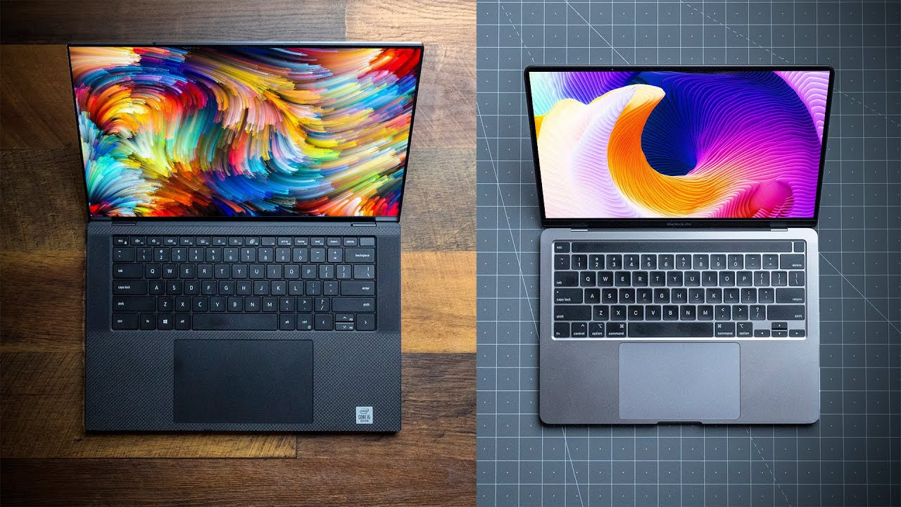 "Dell XPS 15 9500 VS 2020 13"" MacBook Pro!  Is the Apple Tax Worth It?!"
