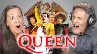 ELDERS REACT TO QUEEN