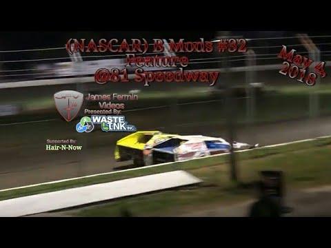 (NASCAR) B Mods #32, Feature, Humboldt Speedway, 05/04/18