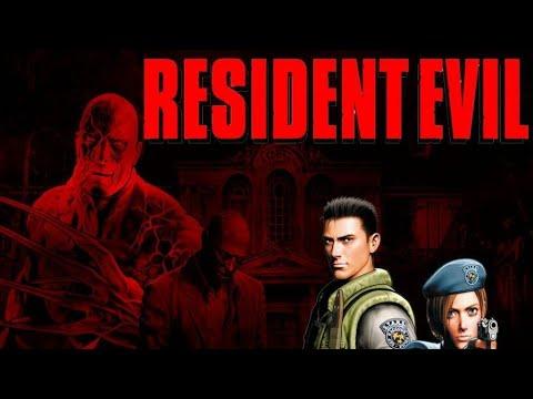 Resident evil 1 прохождение за Криса #1:Особняк