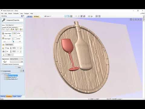 CNC Mini Project | 3D Assembly | V9