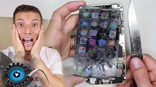 iPhone 6 Glas Wechseln Tauschen unter 20€ Reparatur [Deutsch] Glass replacement Part 1