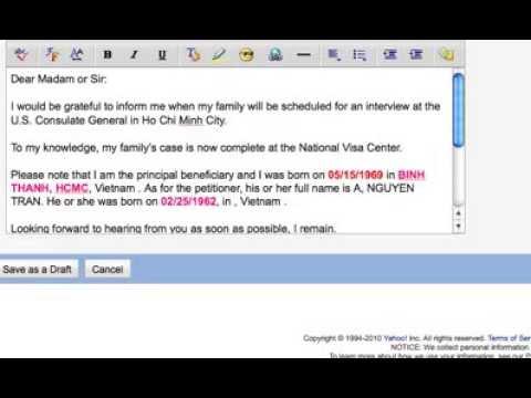 Youtube-Huớng dẫn gửi email cho NVC