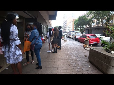 REAL STREETS DOWNTOWN JOHANNESBURG SOUTH AFRICA  !!!