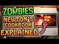 NEWTON'S COOKBOOK EXPLAINED: NEW BO3 ZOMBIES CRAFTING SYSTEM FOR UNWANTED GOBBLEGUMS!!