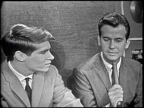 American Bandstand 1964- Interview Don Grady