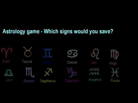 Astrology game  -  Who would you save  -  Comment below according to your preference