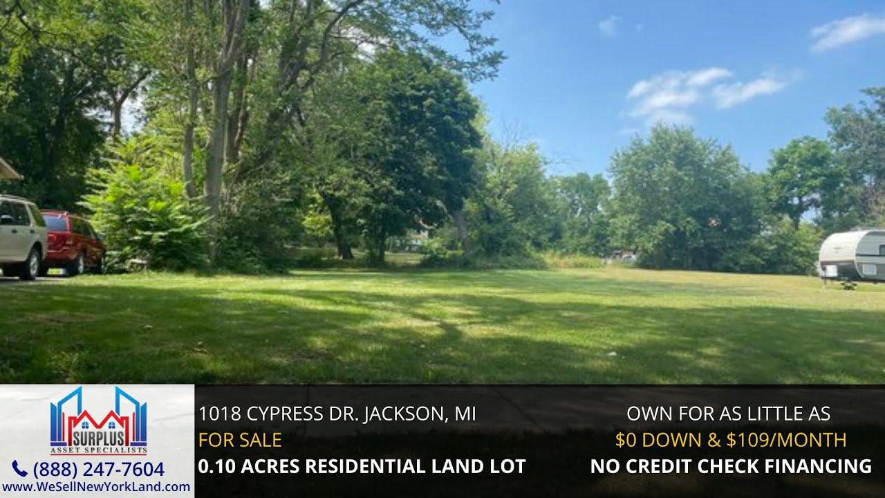 1018 Cypress Dr Jackson, MI - Wholesale Land For Sale Michigan - www.WeSellNewYorkLand.com