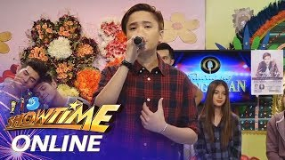 "Gambar cover It's Showtime Online: Kaye Cal sings ""Give Me a Chance"""