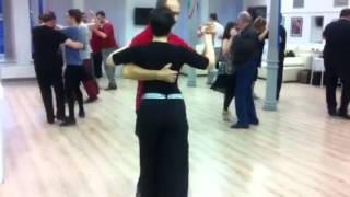 Аргентинское танго. Урок в EdissaDNItango .