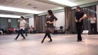Azerbaijani Dance Workshop in Toronto (1) Azərbaycan rəqs sinif