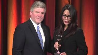 Ann Kaplan wins in the 2015 Stevie Awards for Women in Business