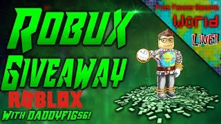 Roblox Saturday! | Live Stream #38 | Roblox | FREE Robux Giveaway!! (DONE)