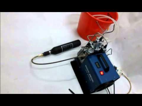 Самодельный дыхательный аппарат под водой.Система таймень. - YouTube