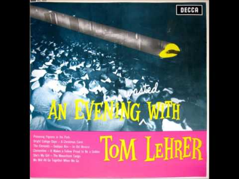 Tom Lehrer - An Evening Wasted With Tom Lehrer (1959)