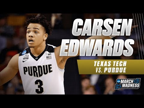 Purdues Carsen Edwards puts up 30 points in the Sweet 16