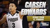 The Journey Carsen Edwards Height Youtube