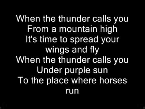 East 17 Thunder album version lyrics on screen