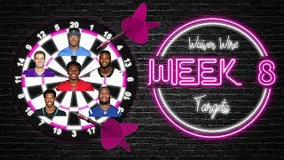 2019 Fantasy Football - Week 8 Waiver Wire Targets