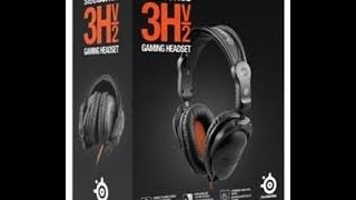 d3087f5b2dc Steelseries 3HV2 Gaming Headset Unboxing ...