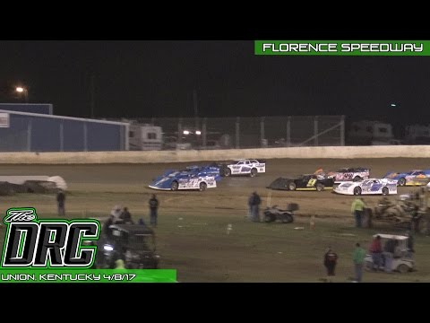 Florence Speedway | 4.8.17 | Crate Late Models | Feature