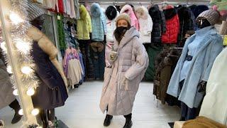СБОРНИК 2020 Модные пуховики куртки Топ 3 павильона на рынке Садовод