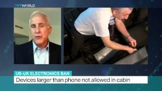 Martin Reardon Talks to TRT World on the Laptop Ban