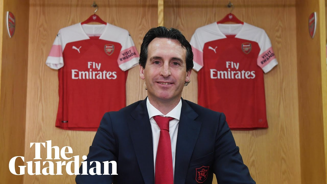 Unai Emery: the story so far of Arsenal's new manager – video