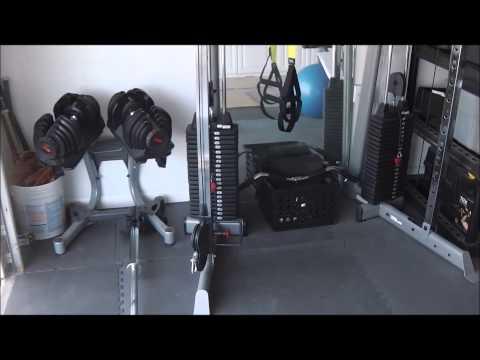 home gym garage gym ideas home garage gym tour  youtube