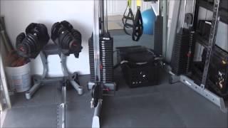 Home Gym Garage Gym Ideas Home Garage Gym Tour