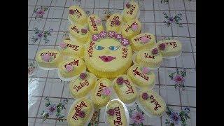 Торт солнышко часть 1