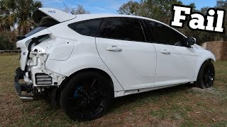 I Bought a Salvage Focus RS Months Ago! Here's Why It's not Rebuilt Yet...