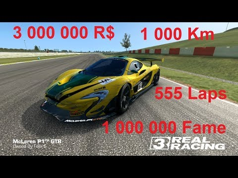 Real Racing 3 - McLaren P1 GTR - Endless Endurance 1000 Km Or 555 Laps (Finish Only)