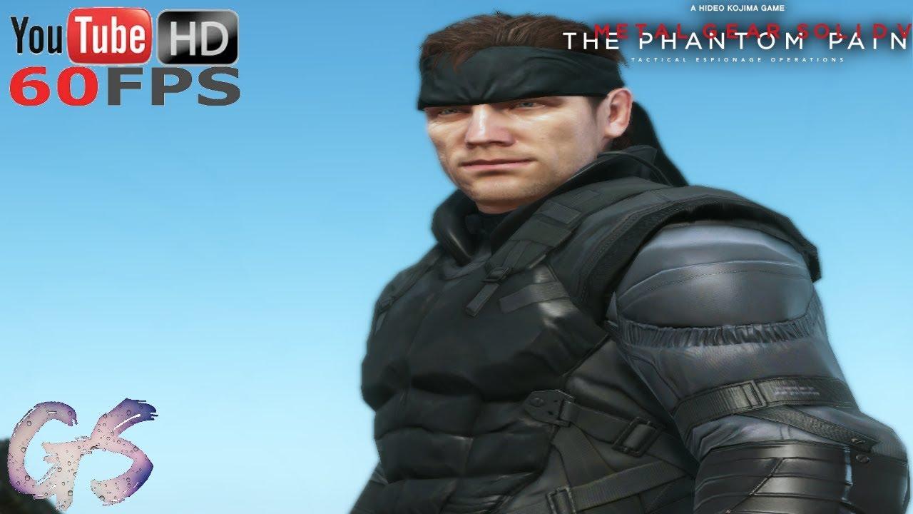 MGS1 Solid Snake MOD I Metal Gear Solid V: The Phantom Pain