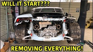 This is one of the toughest challenges we have faced! Getting this totaled lamborghini huracan started for the first time after the wreck.This is also one of the most ...